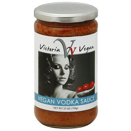 Victoria Vegan Vegan Vodka Pasta Sauce, 25 oz, (Pack of