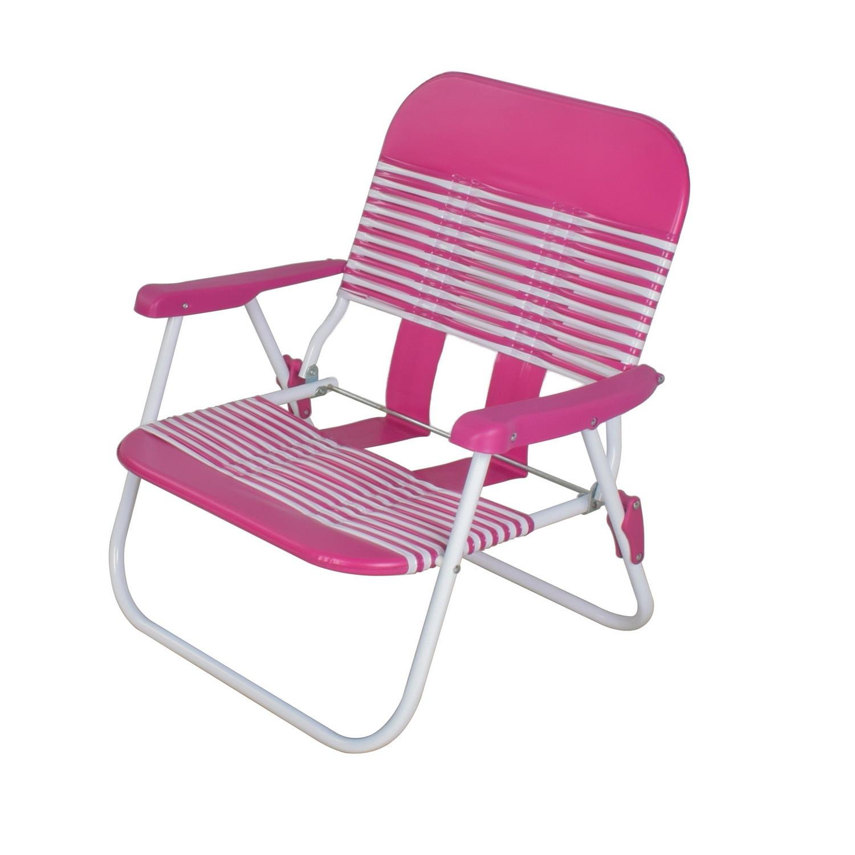 Mainstays Folding Jelly Beach Chair Pink Brickseek