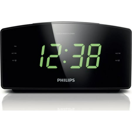 Philips AJ3400/37 Radio Alarm Clock (Philips Clock Radio)