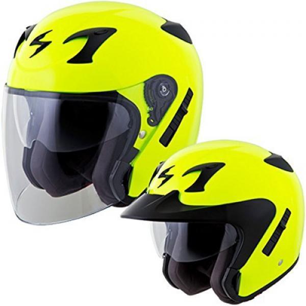 Scorpion EXO-CT220 Street Motorcycle Helmet (Neon, Large)
