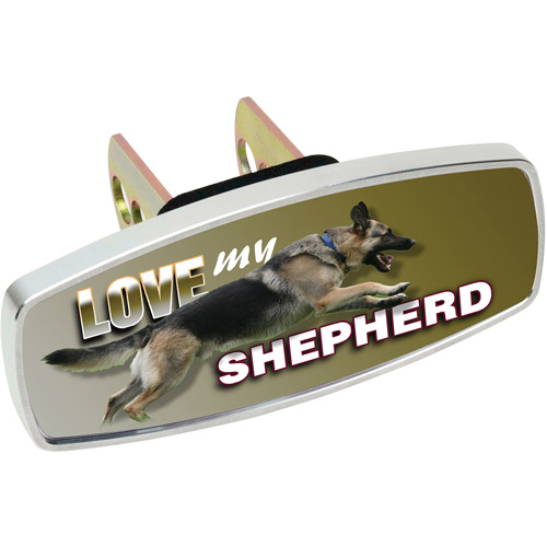 HitchMate Premier Series HitchCap, Love My Shepherd
