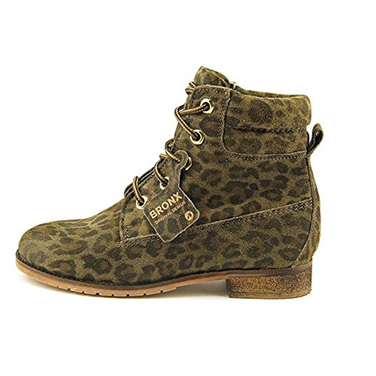 Bronx Womens Mixer Up Combat Boots by Bronx