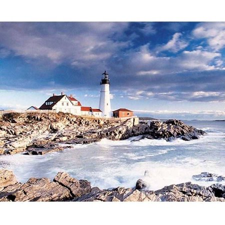 Springbok Portland Head Lighthouse 1,000-Piece Jigsaw Puzzle