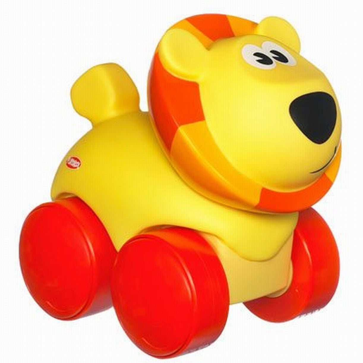 Playskool Wheel Pals Animal Tracks Squishy Critter Lion by Hasbro