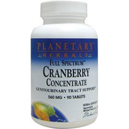 Planetary Formulas Planetary Herbals Full Spectrum Cranberry Concentrate, 90 ea