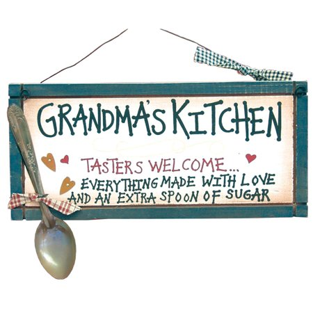 Grandma's Kitchen Sign from Our Grandparents Collection, See the rest of our Grandparents Collection By Ohio Wholesale