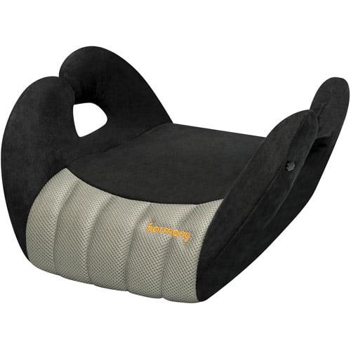 Harmony - Cruz Booster Car Seat, Black/Grey