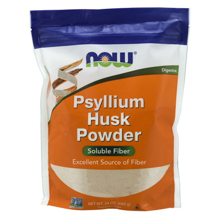 NOW Supplements, Psyllium Husk Powder, 24-Ounce (Foods High In Vitamin K And Potassium)
