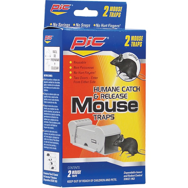 Pic Pomt Humane Catch-and-Release Mouse Trap