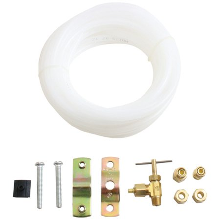 None Ice 800 Ice Maker Hook Up Kits  25Ft Kit With Plastic Tube