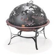 Good Directions FD-1 Starry Night 23-Inch Copper-Finished Steel Fire Dome with Built-In Spark Screen