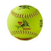 "Decker Red Big Shark 12"" SuperGrip Softball ASA 52 300 QTY 6 by Decker-Check only"