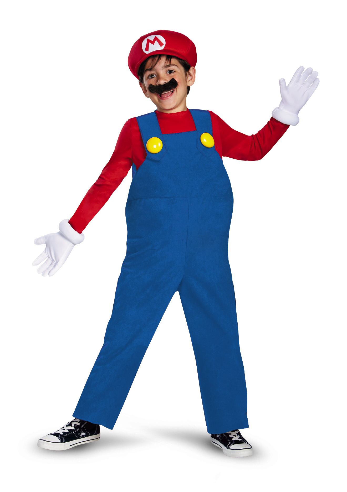 Disguise Boyu0027s Nintendou0027s Super Mario Brothers Deluxe Costume Small 4-6 - Walmart.com  sc 1 st  Walmart & Disguise Boyu0027s Nintendou0027s Super Mario Brothers Deluxe Costume Small ...