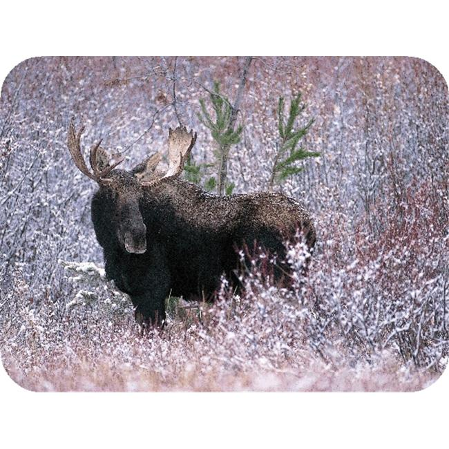 TUFTOP TT99882 Christmas Moose Medium 12x16 Cutting Board