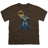 Batman - Arms Akimbo Bats - Youth Short Sleeve Shirt - Large