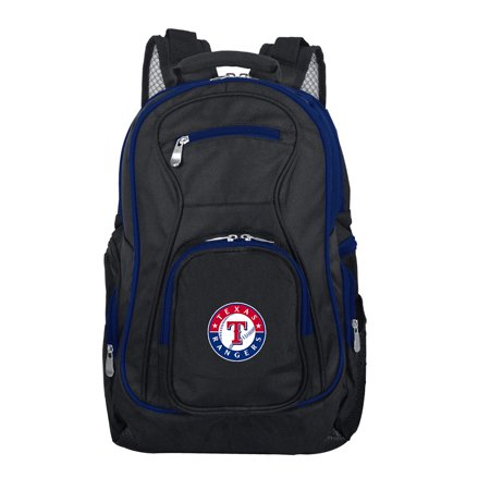 - MLB Texas Rangers Premium Laptop Backpack with Colored Trim
