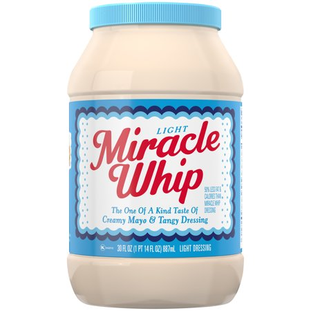 (2 Pack) Miracle Whip Light Dressing, 30 fl oz Jar Miracle Whip Recipe