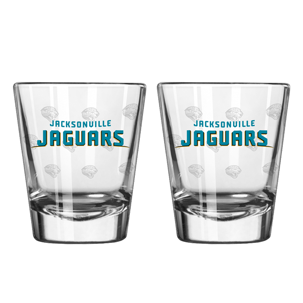 Boelter Shot Glasses 2-Pack Jacksonville Jaguars by Boelter
