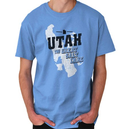 Brisco Brands Utah The Great Salt Lake City Short Sleeve Adult
