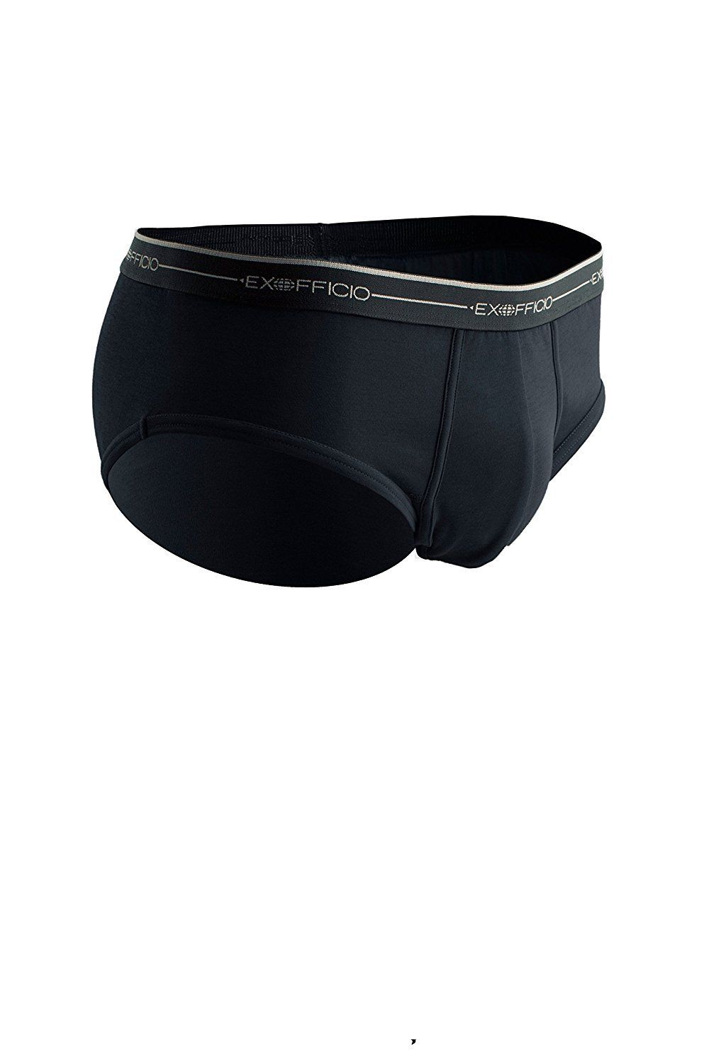 ExOfficio Men's Sol Cool Briefs 1241-2890-Small-Black by ExOfficio
