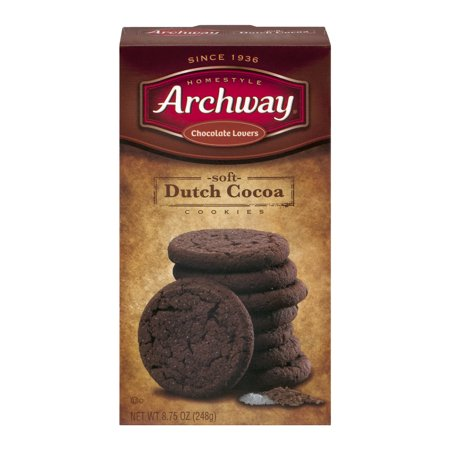Archway Chocolate Lovers Soft Dutch Cocoa Cookies  8 75 Oz