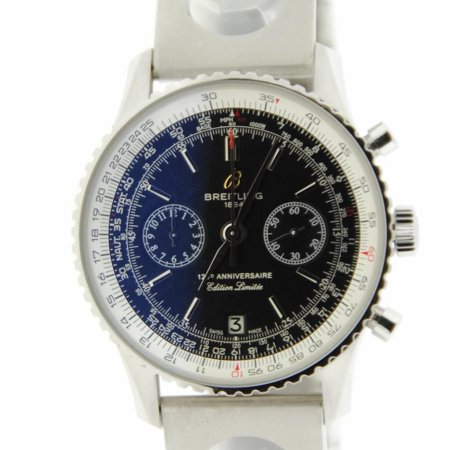 Pre-Owned Breitling Navitimer A26322 Steel Watch (Certified Authentic & Warranty)