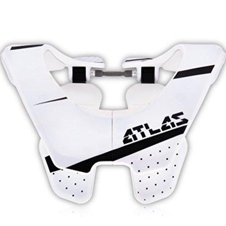 Atlas Air Brace Trooper Neck Brace White Medium Motocross Mx Protection