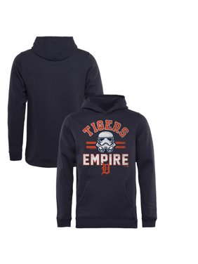 148874270 Product Image Detroit Tigers Fanatics Branded Youth MLB Star Wars Empire Pullover  Hoodie - Navy