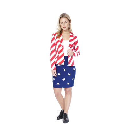 OppoSuits Women's American Woman Americana Suit - Oppo Suit