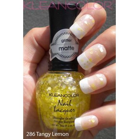 Almost Good As Gold 3D Textured Glitter KleanColor Nail Lacquer 297