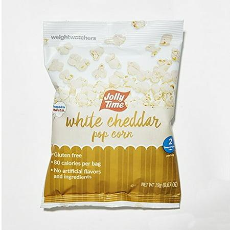 Weight Watchers Popcorn  White Cheddar