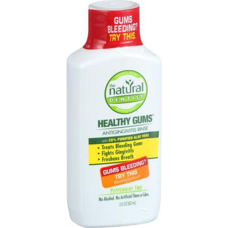 Natural Dentist Anti Gingivitis Rinse - Healthy Gums - Peppermint Twist - 2