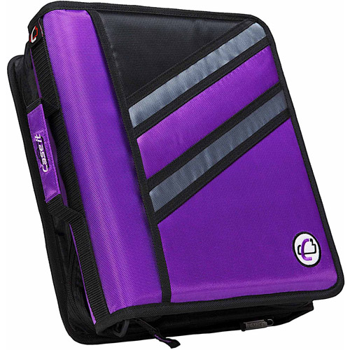 """ase-It Dual 1.5"""" binder with Z-configuration and 3"""" Capacity, Black by Case it, Inc."""