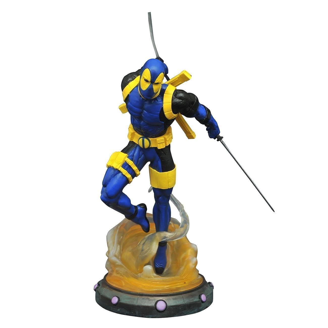 Diamond Select Toys Marvel Gallery: Deadpool (Blue X-Men Costume) PVC Figure by Diamond Select