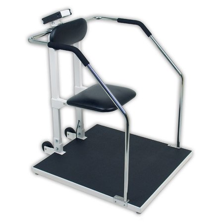 Detecto Digital Chair Scale Or Stand On Scale With Flip Up