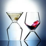 ASOBU Vino Tini Wine and Martini Glass