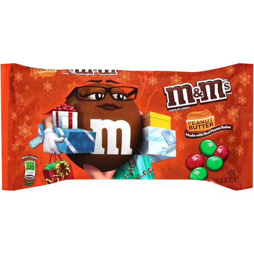M&M's Holiday Peanut Butter Chocolate Candies, 11.4 oz