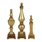 Sterling Industries 97-6164 Set of 3 Lisbon Finials