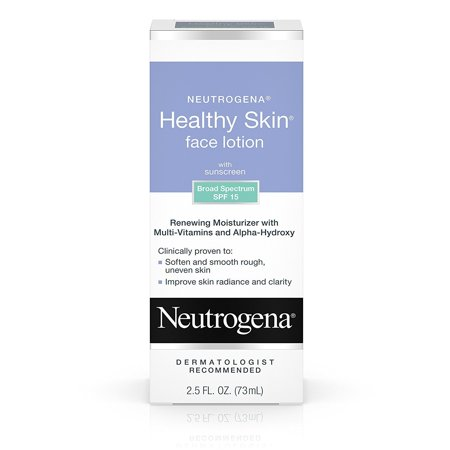 Neutrogena Healthy Skin Face Lotion SPF 15, 2.5 Fl.