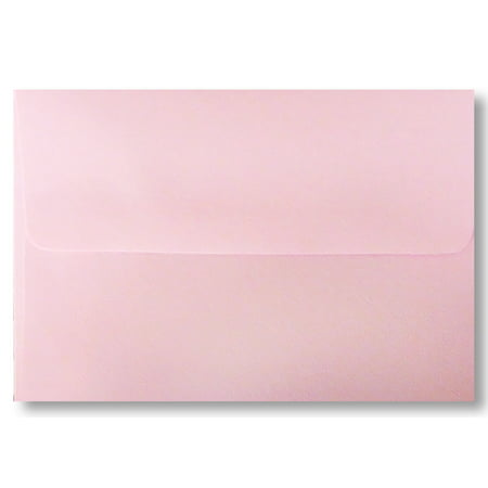 Pink Pastel A1 size (Measures: 3 5/8 x 5 1/8) Envelopes 50 Boxed for 3 3/8 X 4 7/8 Response Cards, Invitations, Announcements Showers Weddings from The Envelope Gallery (Card Boxes For Weddings)