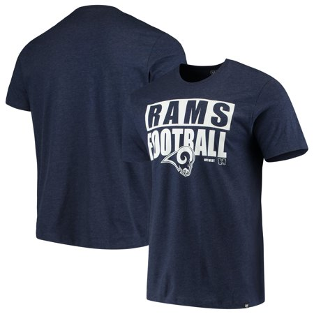 Halloween Club Events Los Angeles (Los Angeles Rams '47 Blockout Club T-Shirt - Heathered)