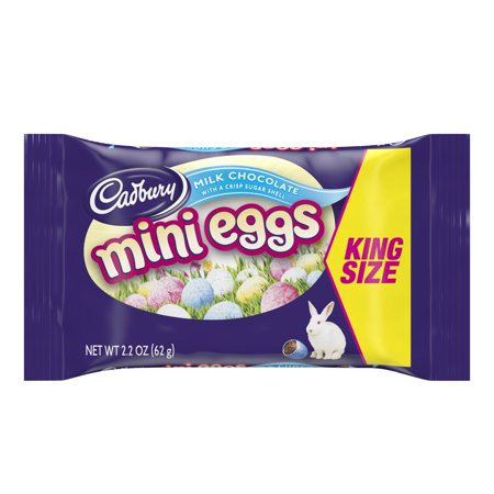 CADBURY MINI EGGS King Size Easter Candy, 2.2 - Homemade Easter Candy