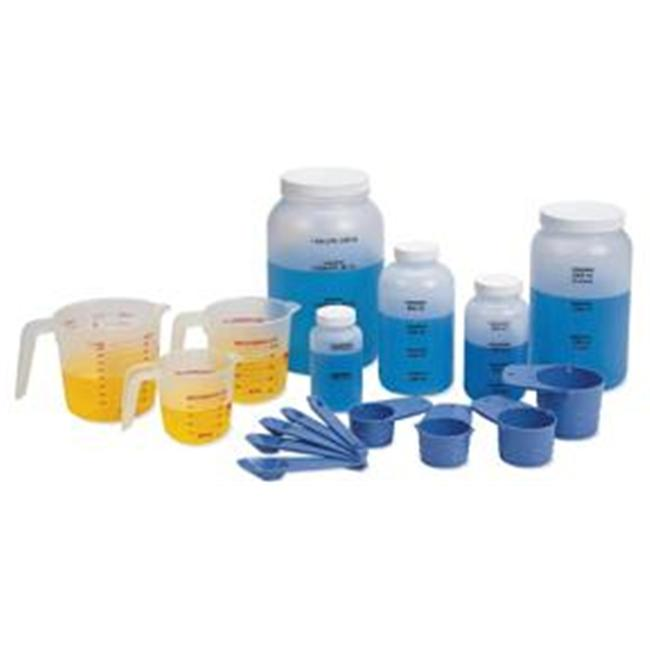 Olympia Sports 15706 Classroom Liquid Measurement Set - Set of 17