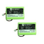 Synergy Digital Cordless Phone Batteries - Replacement for Ooma HB1001 Cordless Phone Battery (Set of 2)
