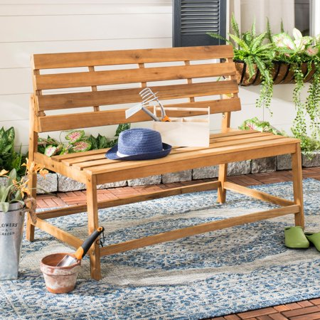 Swell Safavieh Ruben Outdoor Glam Balcony Convertible Bench And Table Pabps2019 Chair Design Images Pabps2019Com