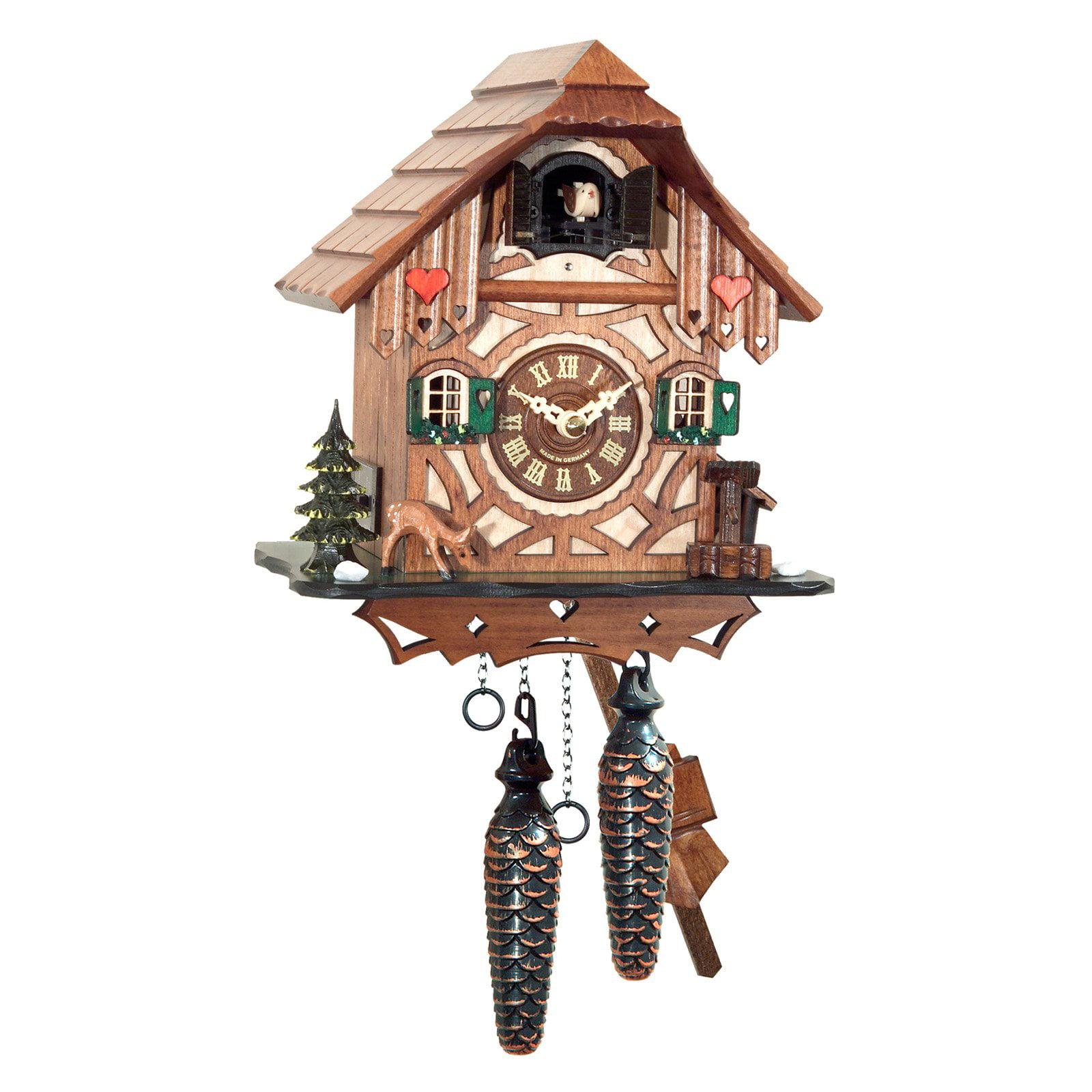 Black Forest Chalet with Deer Cuckoo Clock by Alexander Taron