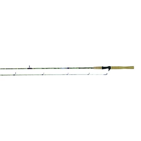 Jimmy houston camo cast rod 7 39 for Camo fishing pole