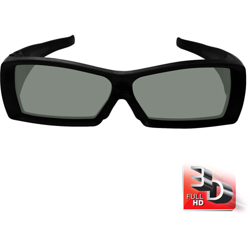 VIZIO Full HD 3D Rechargeable Glasses, 2-pack