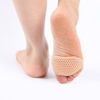 Foot Insoles Pads Silicone Metatarsal Cushion Sore Forefoot Support 1 Pair