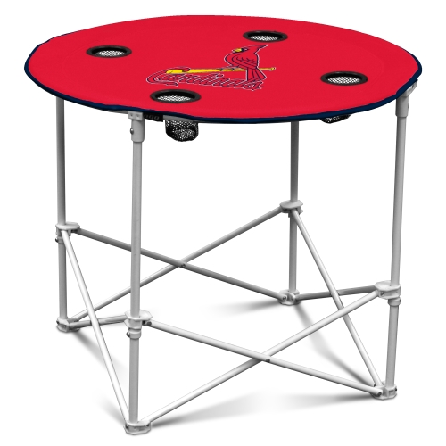 St. Louis Cardinals Round Table - Red - No Size